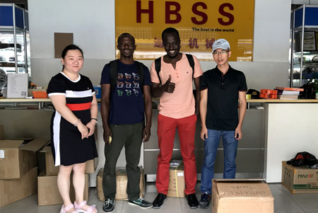 Senegalese friends recognize HBSS products,Thank you!