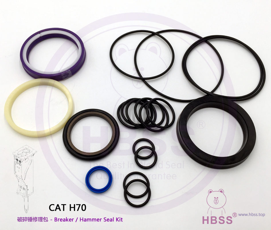 CAT H70 Breaker Seal Kit CAT H-70 Hammer Seal Kit